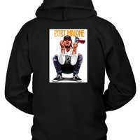 Post Malone Cover Hoodie Two Sided