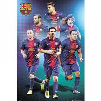 F.C. Barcelona Poster Players 72