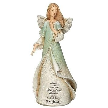 Karen Hahn's Heavenly Blessings Rainbows & Stars Angel-12577