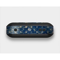 The Scratched Surface Peeled American Flag Skin Set for the Beats Pill Plus