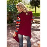 Trendy Knitted Long Cardigan