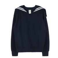 Basic Sailor Collar Sweatshirt | MIXXMIX