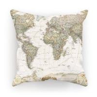 Livin' in a Vintage World Pillow