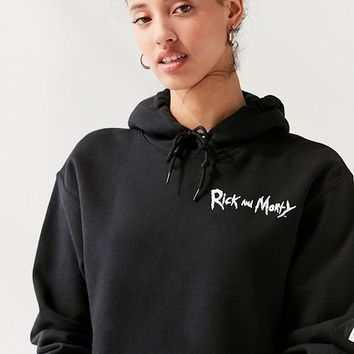 Rick And Morty Hoodie Sweatshirt | Urban Outfitters