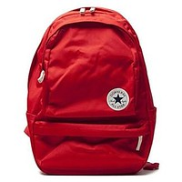 Converse tide brand men and women outdoor sports classic backpack red