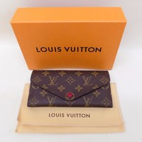 Authentic Louis Vuitton Paris Josephine Monogram Wallet w/ Box & Receipt m60708