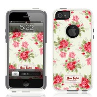 iPhone 5 Case [White] Jenn Taylor Original [Dual Layer] UnnitoTM *1 Year Warranty* Case Protective [Custom] Commuter Protection Cover iPhone 5S