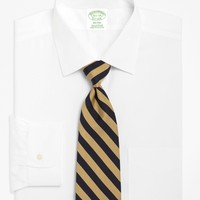 Men's Extra-Slim Fit Spread Collar White Dress Shirt   Brooks Brothers