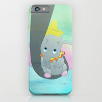 dumbo and his mom iPhone & iPod Case by Studiomarshallarts