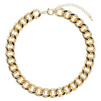 Thick Chunky Chain Collar - Jewelry  - Bags & Accessories