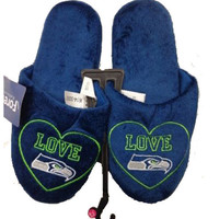 Seattle Seahawks Official NFL Women's Love Slipper