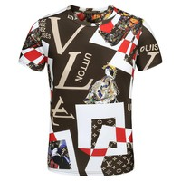 Louis Vuitton Fashion Casual Shirt Top Tee-18