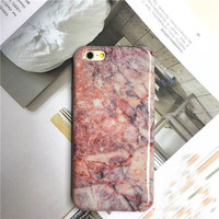 Glossy Marble Phone Case for iPhone