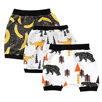 Boys Shorts Girls Shorts Kids Panda Kids Shark Seal Beach Harem Shorts Baby Clothing Children's Pants