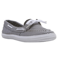 Nautical Striped Boat Shoes | Wet Seal