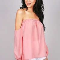 Gypsy Flow Blouse | Trendy Blouses at Pink Ice