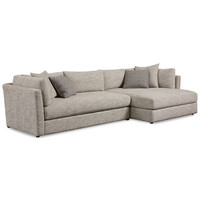 Leonora 2-Pc. Sectional with Chaise, Only at Macy's - Couches & Sofas - Furniture - Macy's
