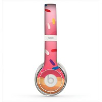 The Sprinkled 3d Donut Skin for the Beats by Dre Solo 2 Headphones
