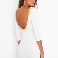 Gold Rush Dress in Clothes Dresses at Nasty Gal