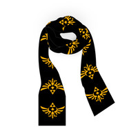 The Legend of Zelda Scarf with Logos
