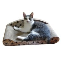 Evelots Cat Scratcher Kitty Couch Lounge, Corrugated Cat Scratching Pad