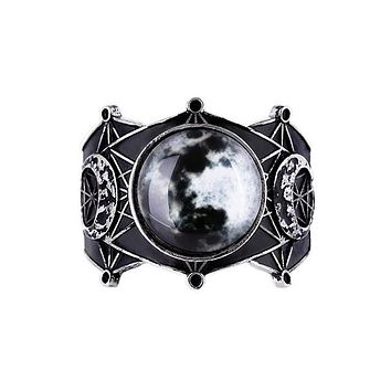 Sacred Geometry Luna Full Moon Bracelet