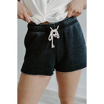 Time To Relax Shorts - Charcoal