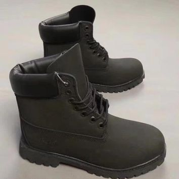 Timberland Fashion Winter Waterproof Boots Martin Leather Boots Shoes