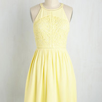 Come On In, Citron Down Dress