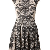 Alexander McQueen baroque lace jacquard dress