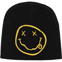 Nirvana Men's Beanie Black