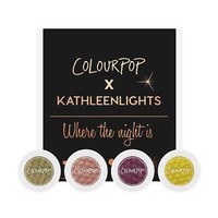ColourPop KathleenLights Where The Night / Light Is - Single and Quad
