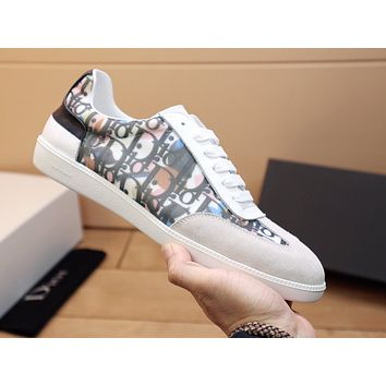 dior fashion men womens casual running sport shoes sneakers slipper sandals high heels shoes 184