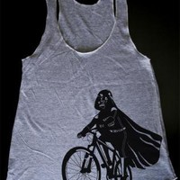 Darth Vader is Riding It - Womens Tank Top