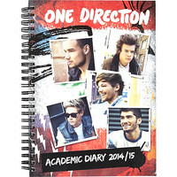 River Island Womens One Direction A5 academic diary 2014/15