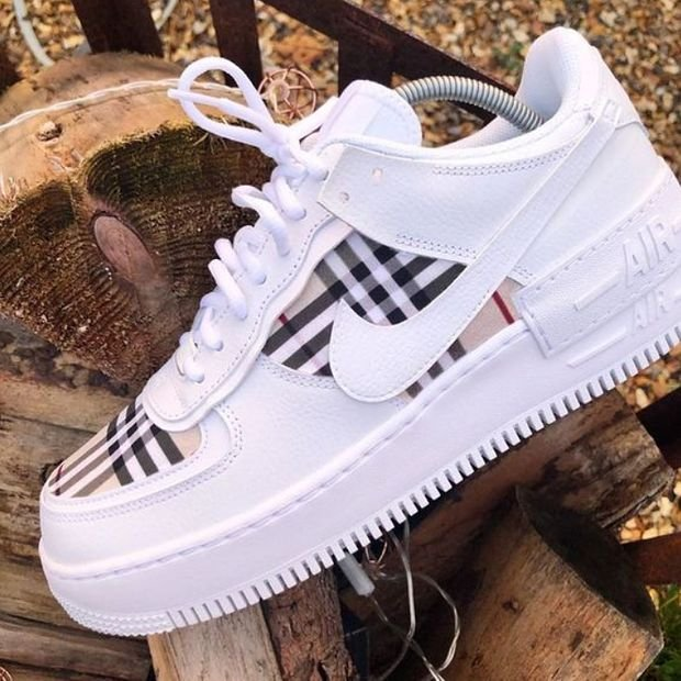 Image of Nike Air Force 1 Shadow Lightweight Increase Low-top All-match Sneakers Shoes