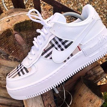 Nike Air Force 1 Shadow Lightweight Increase Low-top All-match Sneakers Shoes