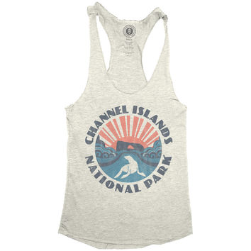 Channel Islands Sunset Racerback Tank