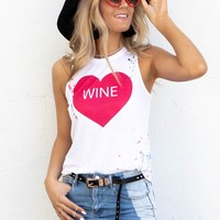 CHASER White Heart Wine Top