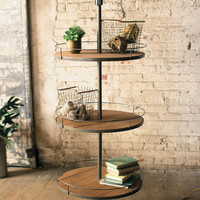 3 Tier Display Floor Lamp
