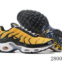 Hcxx 19July 1183 Nike Air Max Plus QS Retro Sports Flyknit Running Shoes