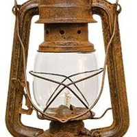 Rusty Railroad Lantern