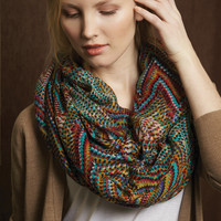 Pattern Play Bargello Infinity Scarf