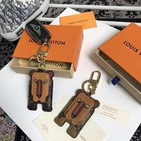 LOUIS VUITTON LV LION KEY HOLDER