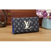 LV Fashionable Small Wallet for Women's Printed Handbags