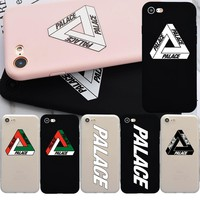 Palace Brand Logo NEW Soft Silicon TPU Cute Case for iPhone 6s, Fashion Phone Cover Coque for iPhone 7 Plus 5s 6 6s Case Fundas