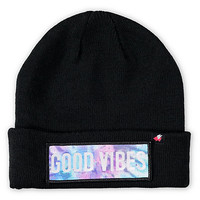 Glamour Kills Good Vibes Beanie