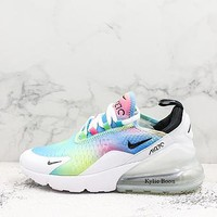 Nike Air Max 270 White Multi Colors - Best Deal Online