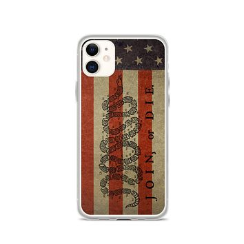 Join or Doe 50 States iPhone Case