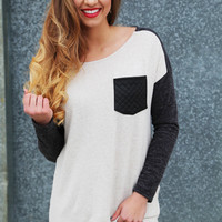 Leather Forever Lightweight Knit